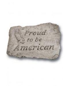 "10"" Stone-Proud 2 Be American"