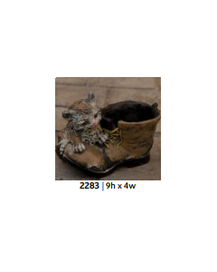 """Puss """"N"""" Boots Planter"""