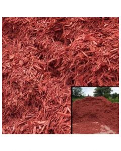 Red Wood Mulch Bag