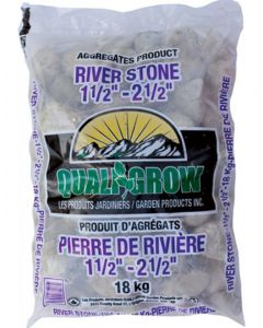 "River Stone 18kg 1 1/2 -2 1/2"""