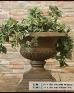 Roman Pot & Base