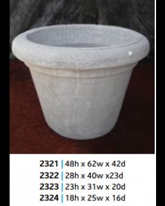 "Rondo Planter 32"" x 32"" x 23""N"