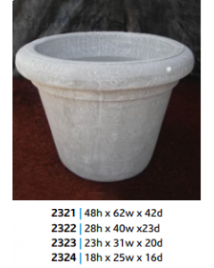 "Rondo Planter 25"" x 25"" x 18""N"