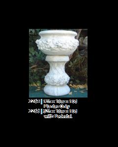 Fancy Rose Pot & Base
