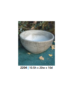 Round Smooth Pot