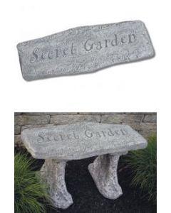 "10"" Stone-Secret Garden"