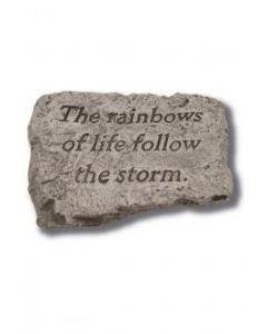 "10"" Stone-The Rainbows of Life"