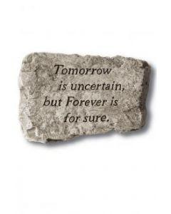 "10"" Stone-Tomorrow is Uncert"