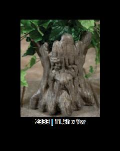 Tree Trunk Face Pot