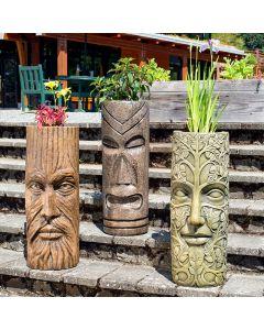 Treeman Mask Lg. Pot Holder