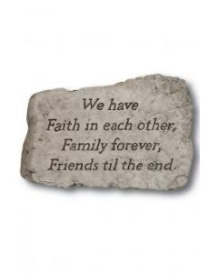 """10"""" Stone-We Have Faith In"""
