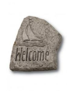 """8"""" Stone-Welcome (Sailboat)"""
