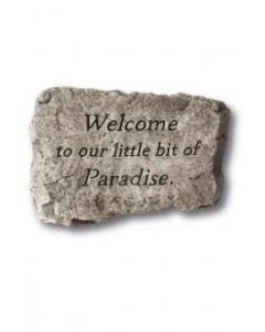 """10"""" Stone-Welcome...Paradise"""