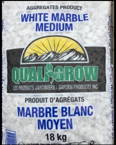 "White Marble 18kg  1/2"" Medium"