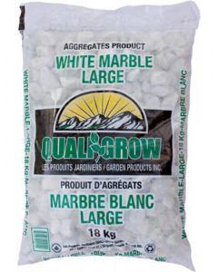 "White Marble 18kg 1"" Large"
