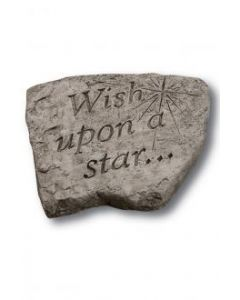 """8"""" Stone-Wish Upon a Star"""