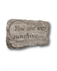 """10"""" Stone-You are my Sun"""